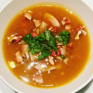 Spicy Butternut Soup
